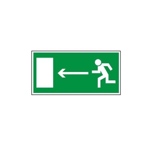 """Znak """"Kierunek do wyjścia drogi ewakuacyjnej"""""""