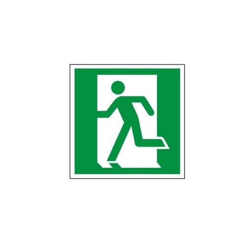 """Znak """"Drzwi ewakuacyjne w lewo"""""""