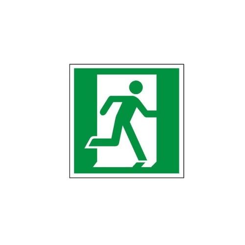 """Znak """"Drzwi ewakuacyjne w prawo"""""""