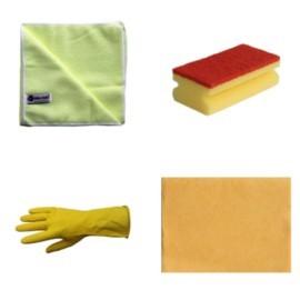 Zmywaki i rękawice