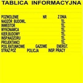 Tabliczki PCV