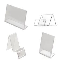 Stojaki i prezentery plexiglass