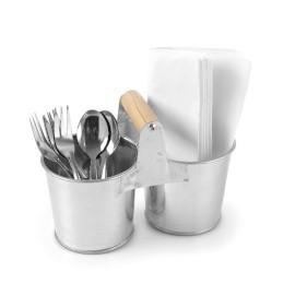 Naczynia ze stali galwanizowanej