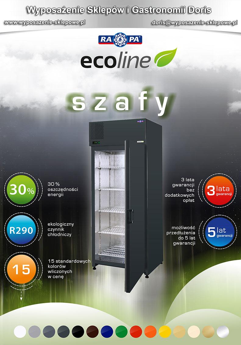 energooszczędne szafy chłodnicze ecoline